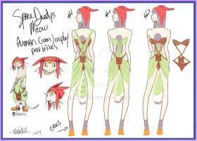 SpaceDandy Meow Cosplay ideas by mzclark