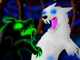 The hopless, souless dog attacks by iW-O-L-F
