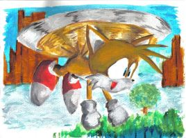 "Miles ""Tails"" Prower by supersonikku"