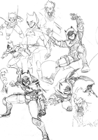 Batman Sketches by jmatchead
