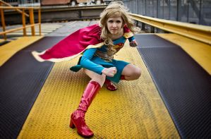 Supergirl - One Girl Revolution by echoing-artemis