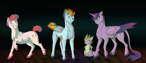 Male Little Pony (Part 1) by Daphianna