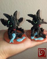 Toothless No 3 and 4 by Luna-cuteXD