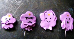 Lumpy space princess badges and magnets by chaobreeder16