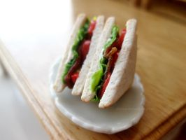 BLT Sandwich by Zhoira