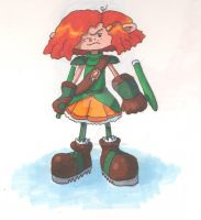 Magical Girl Numbuh 86 by evelynsong21