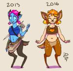 Peaches Evolution by SnakiePoo