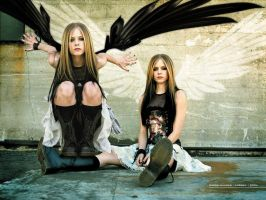 Avril angel by Avrilfanatics