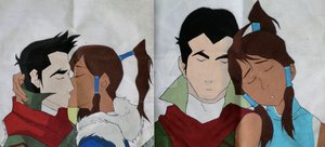 The Legend of Korra Makorra Double Sided Tote by cross-academy-crafts