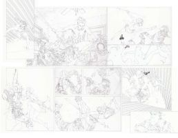 Red Hood 15 pencils page 2 and 3 by timothygreenII