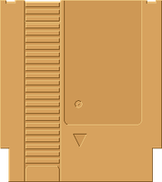 NES Cartridge [Gold] by BLUEamnesiac