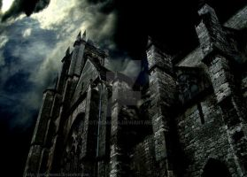 Haunted Cathedral by Gothicmama