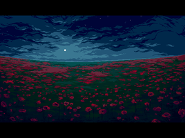Poppy field by sulamith
