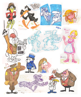 Colour sketches by Granitoons