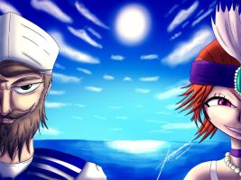 Let's sail to valoran! by ichimoral