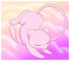 Mew stretching by raininess