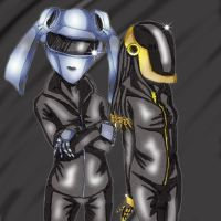 Daft Punk Rule 63 by JessicaRaven