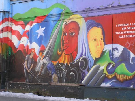 Puerto Rican Graffiti by StrawberryHaze