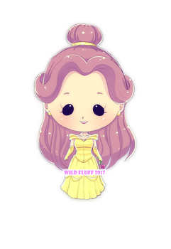 Commission - Tiny Belle by Wild-Fluff