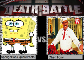 Death Battle - SpongeBob SquarePants vs. Chef Tony by MatthewJabezNazarioI