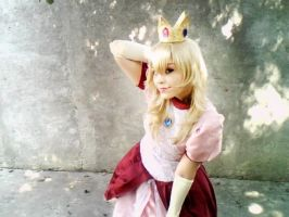 Princess Peach -Melee- Cosplay by Nao-Dignity