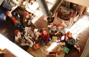 Weasley family by YUZU-0u0