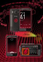 HTC DESIRE HD WITH BEATS AUDIO Theme by NoOne00