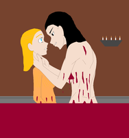 Never play Marco Polo with a vampire! by crshh