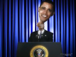 Obama's speech by superalysson