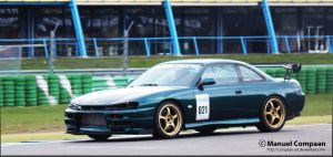 Nissan S14 by compaan-art