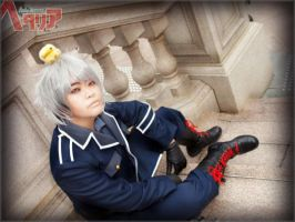 Axis Powers Hetalia - Prussia by jinxiejinx