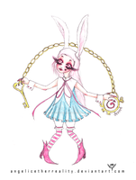 White Rabbit Bungirl by angelicetherreality