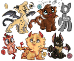 [CLOSED] Manticore Adopts! by Catnip1996