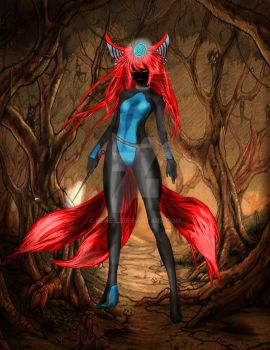 Nar Dark Forest Fox Wizard by Rene-L