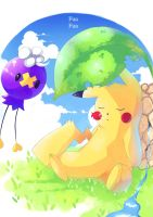 Summer day by FuaFua-channel