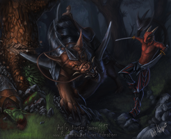 Forest Ambush by Tidma