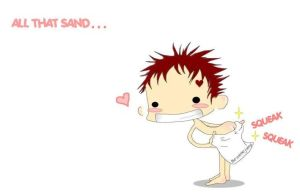 Gaara Bum rub by theanimejump