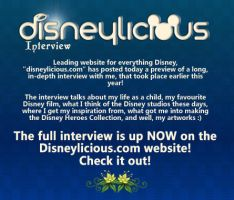 Disneylicious Full Interview by davidkawena