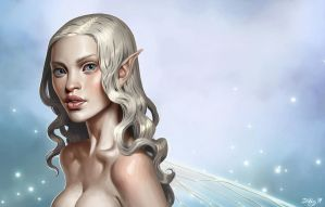 white fairy by DanielaUhlig