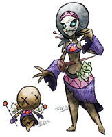 Voodoo Fakemon by T-Reqs