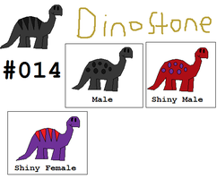 #014 Dinostone by thecat1313
