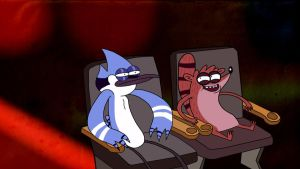 Regular show by Makinita