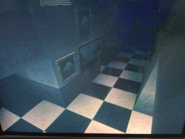 Bathroom, Five Nights At Freddys by Boyscoutwizard