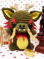 Chinese dragon amigurumi by cuteamigurumi