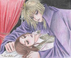 jareth and sarah by Mad-Hatter----X