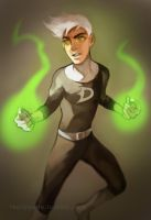 Danny Phantom by lacrimode