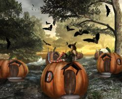 Little Pumpkin Land by sweetcivic