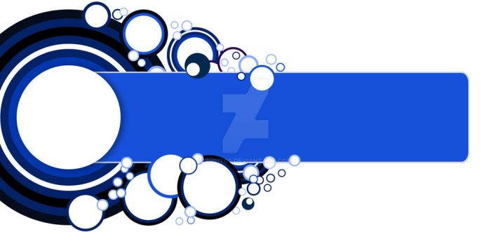 blue circle vector - Text Space by bheiy09
