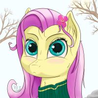 My Little Fluttershy by Spaz-Featherbrain