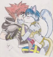 Kiss me Sora by soravalor